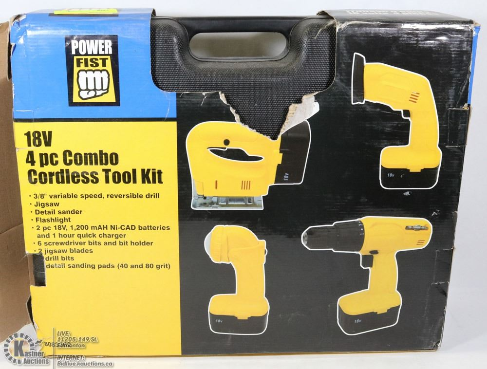 Power fist cordless drill battery
