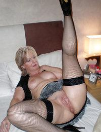 Horny older woman porn