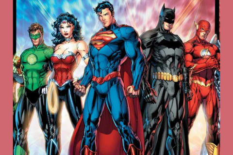 Justice league super heroes
