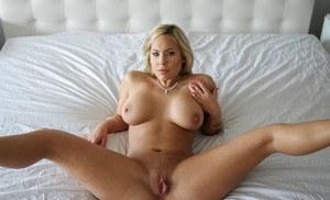 Ebony black pantie nude