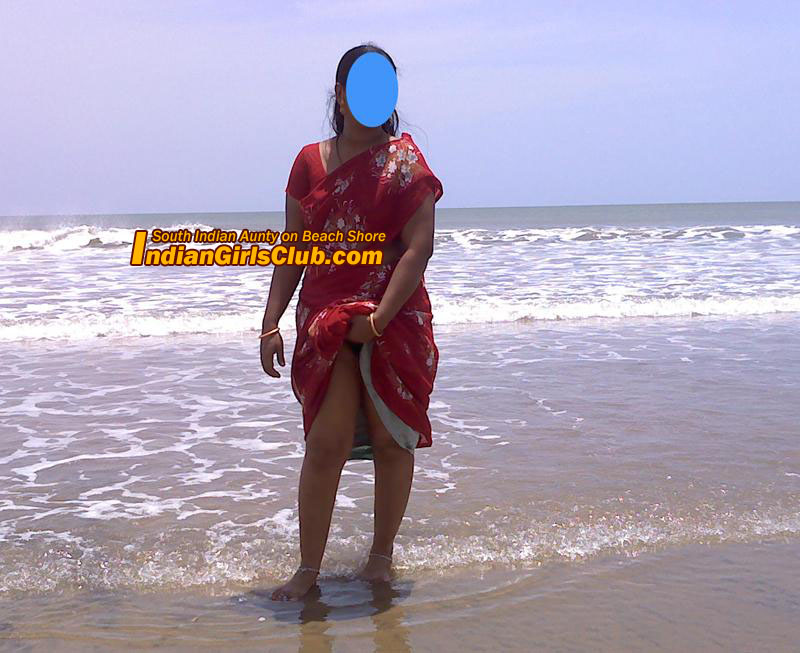 Naked aunties at beach