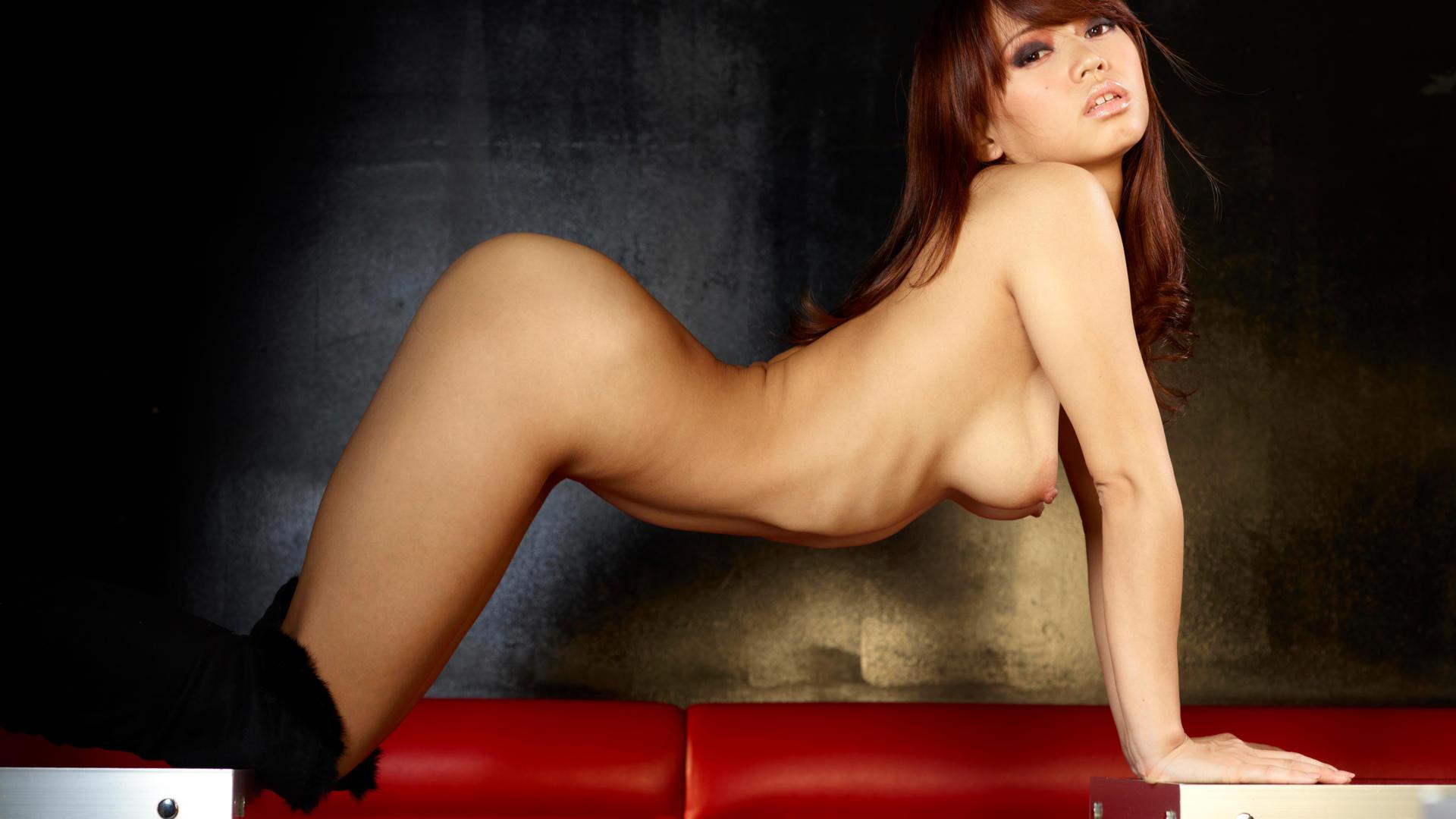 Sexy boobs in night club