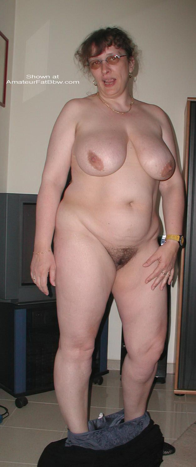 Mature chubby nude fat women