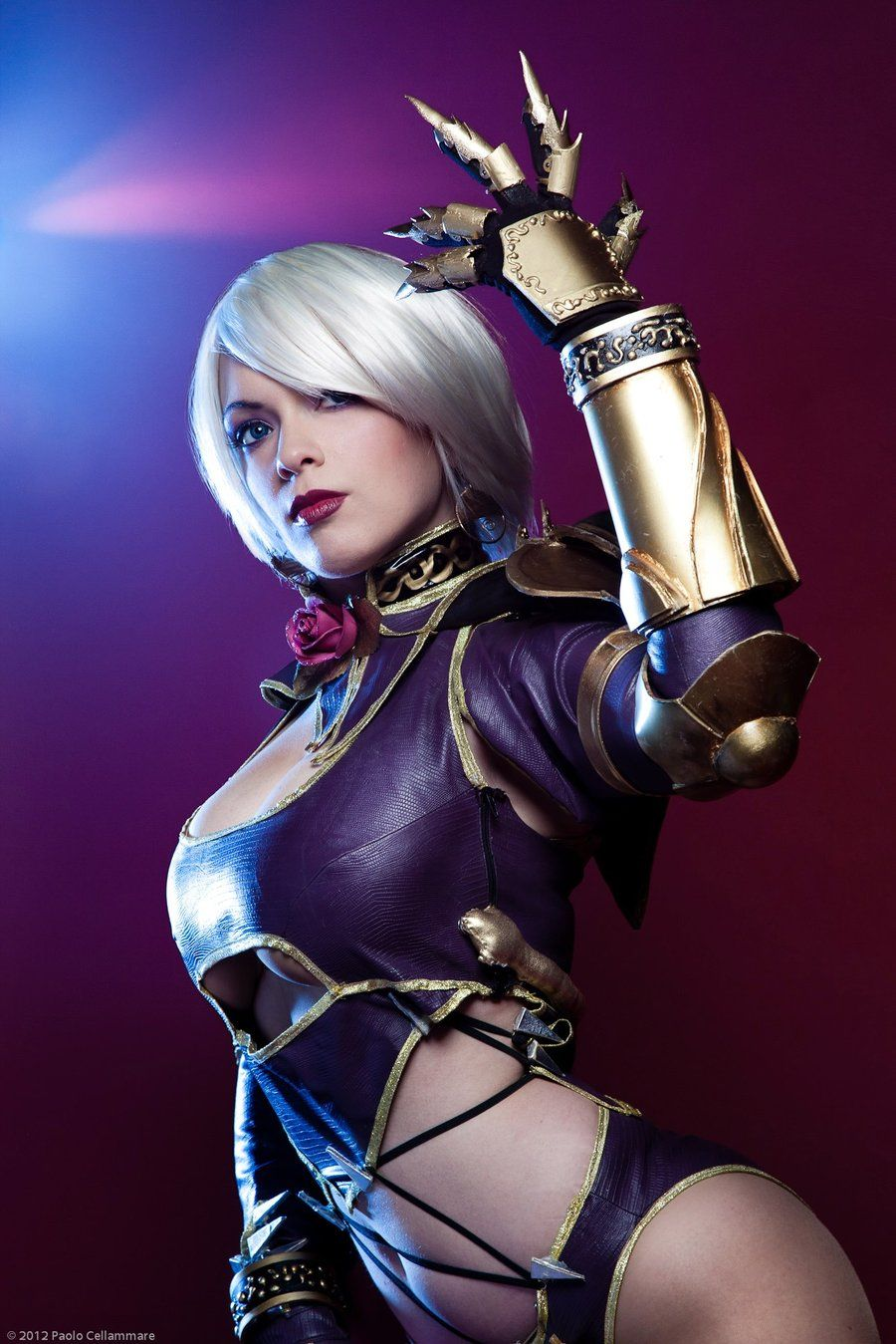 Soul calibur ivy cosplay