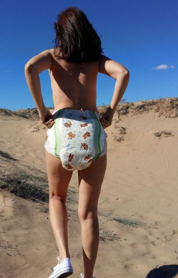 Adult diaper story wearing