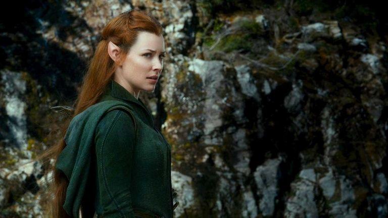 In the hobbit evangeline lilly elf