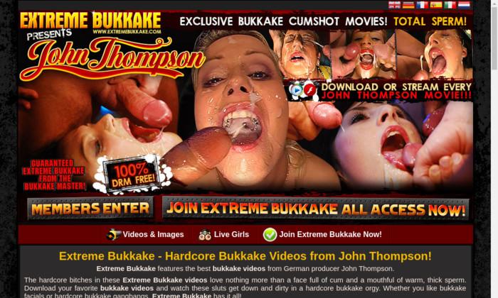 Free extreme bukkake movies