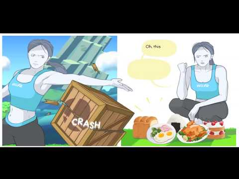Wii fit trainer comic
