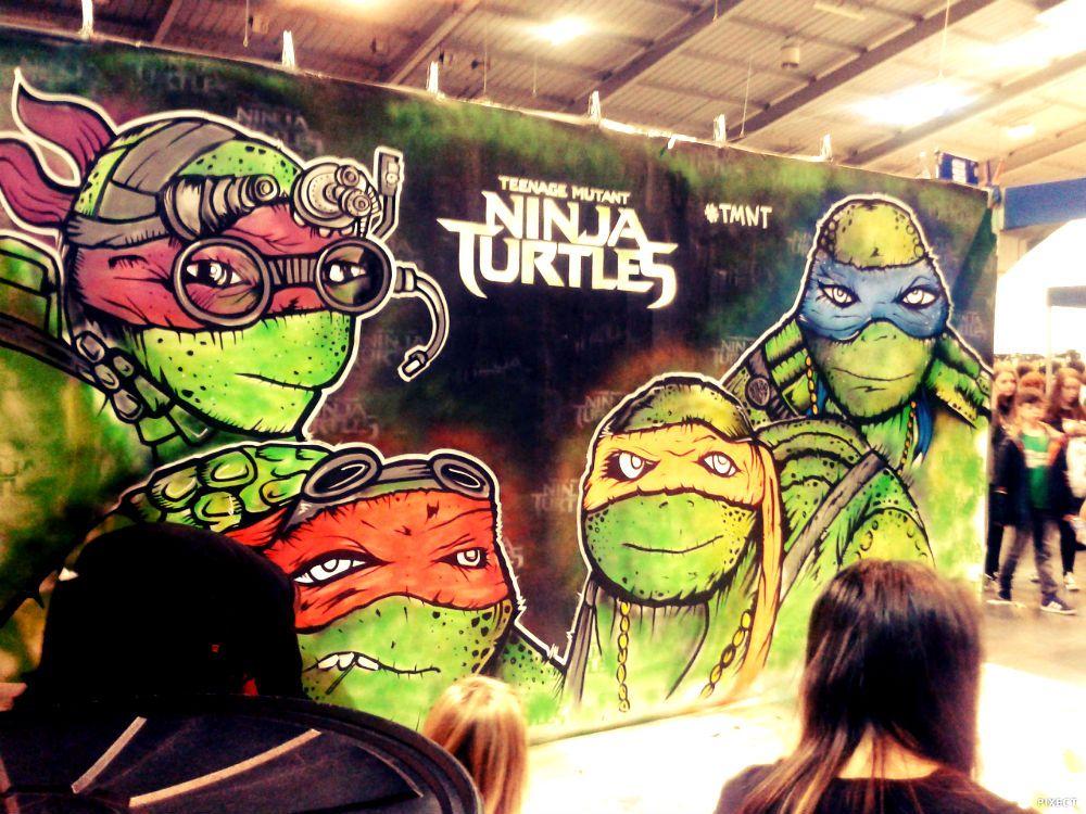 Mutant ninja turtle graffiti