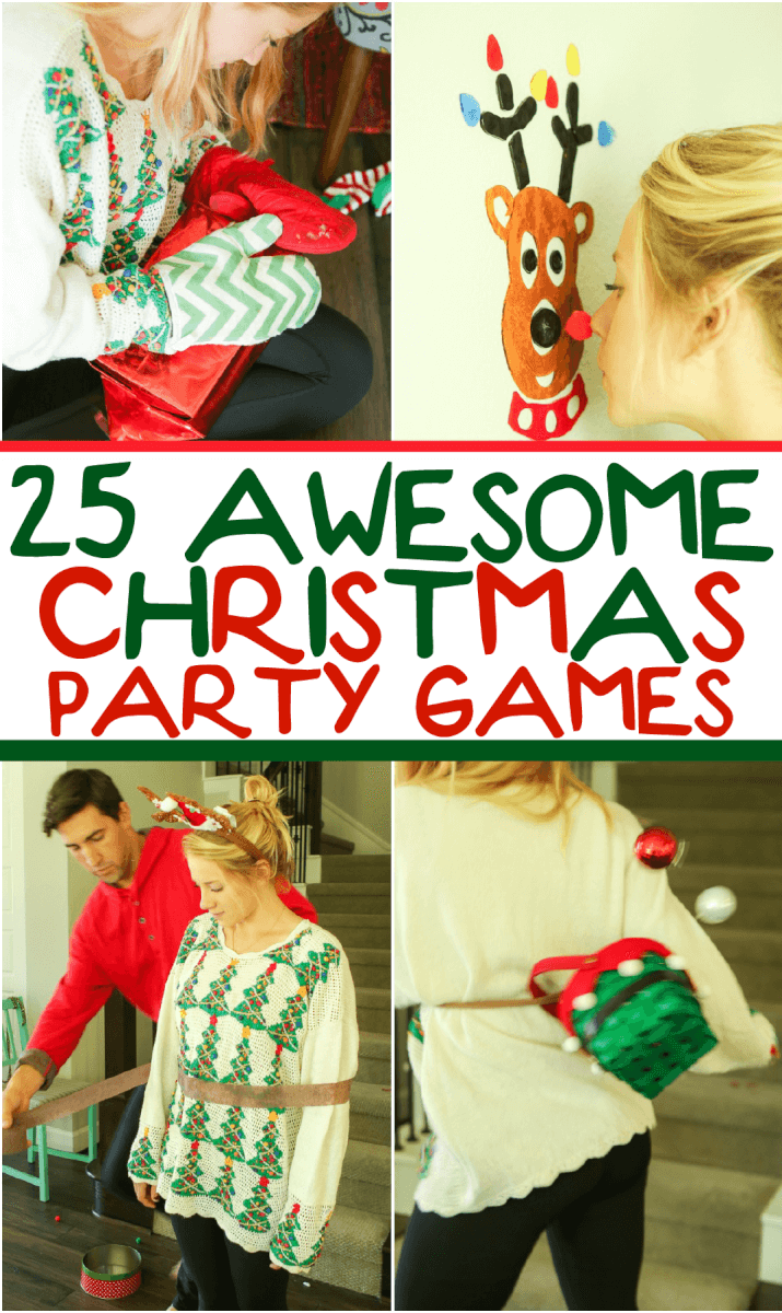 Adult christmas fun game party