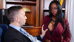 Black teacher with big boobs porn