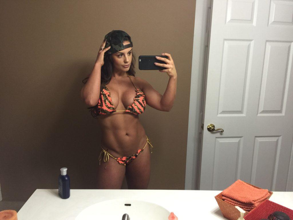 Kaitlyn wwe celeste bonin naked