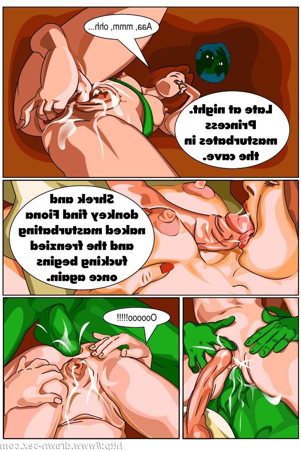 Fiona from shrek porn comics