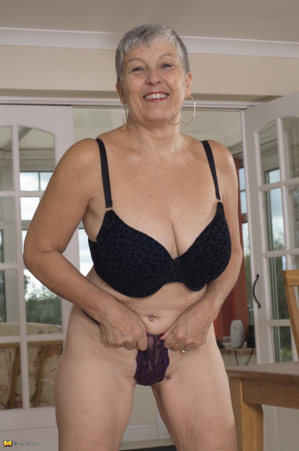 British mature wife naked
