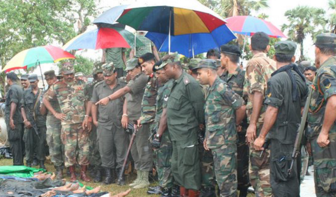 Sri lanka dead women soldiers pics