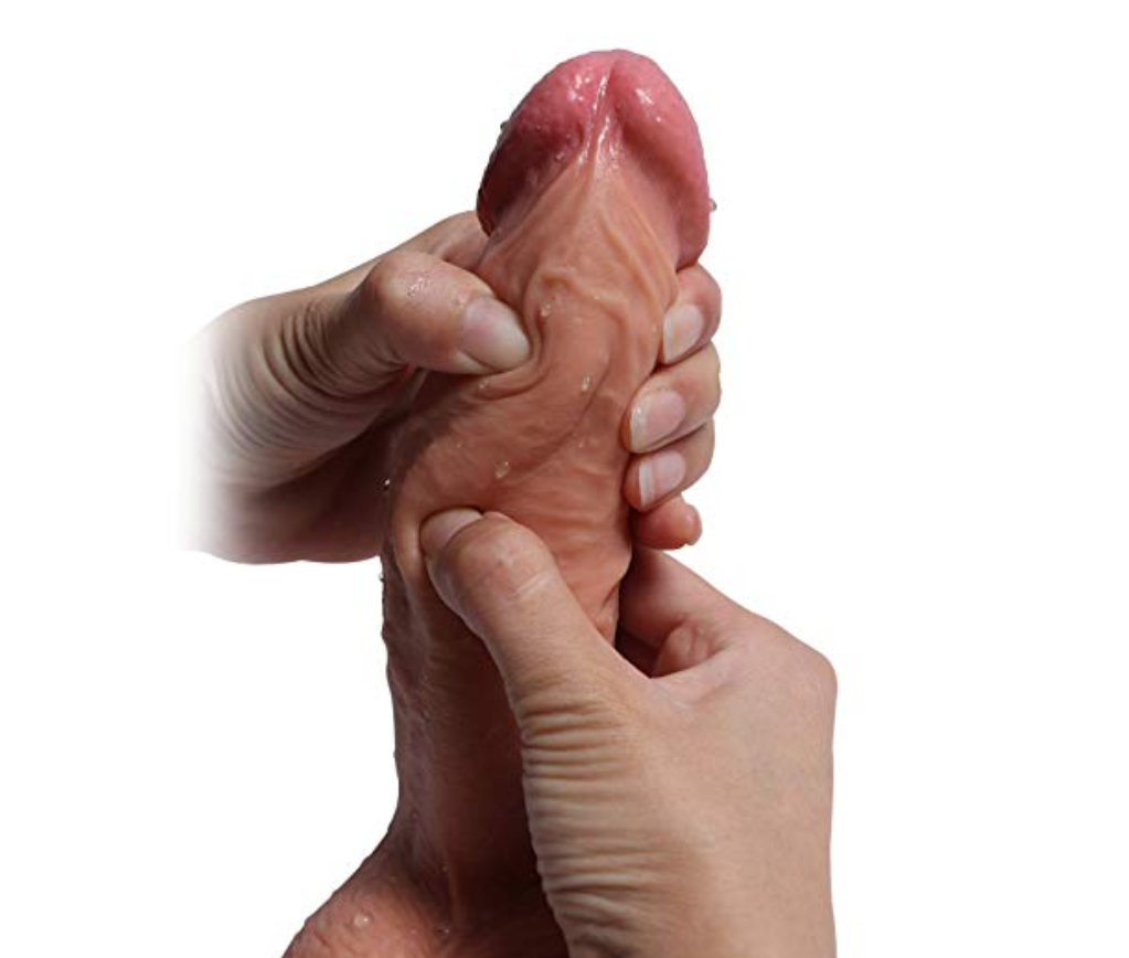 Difference between jelly and rubber dildo