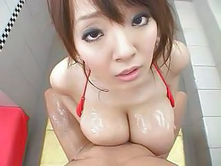 Super cute japanese big tits
