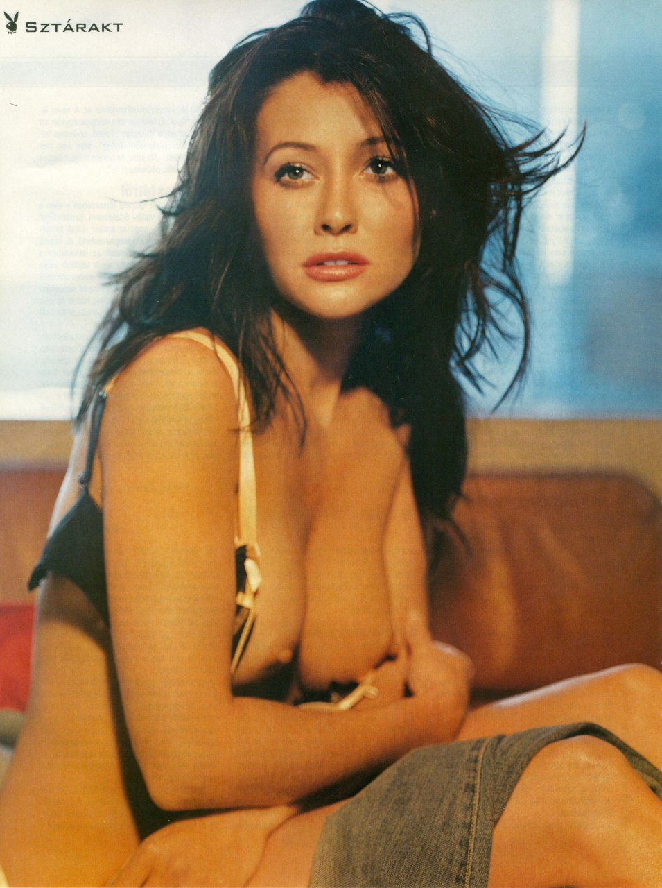 Shannen doherty nude topless