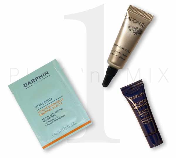 Free cosmetics and facial samples