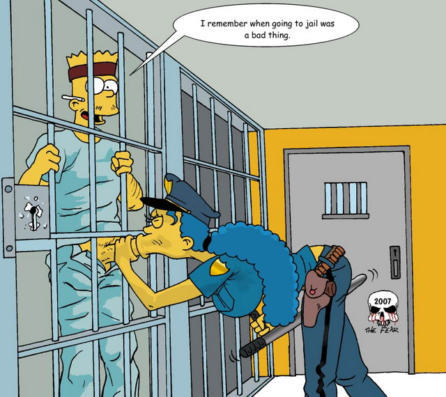 Bart and marge simpson porn comic