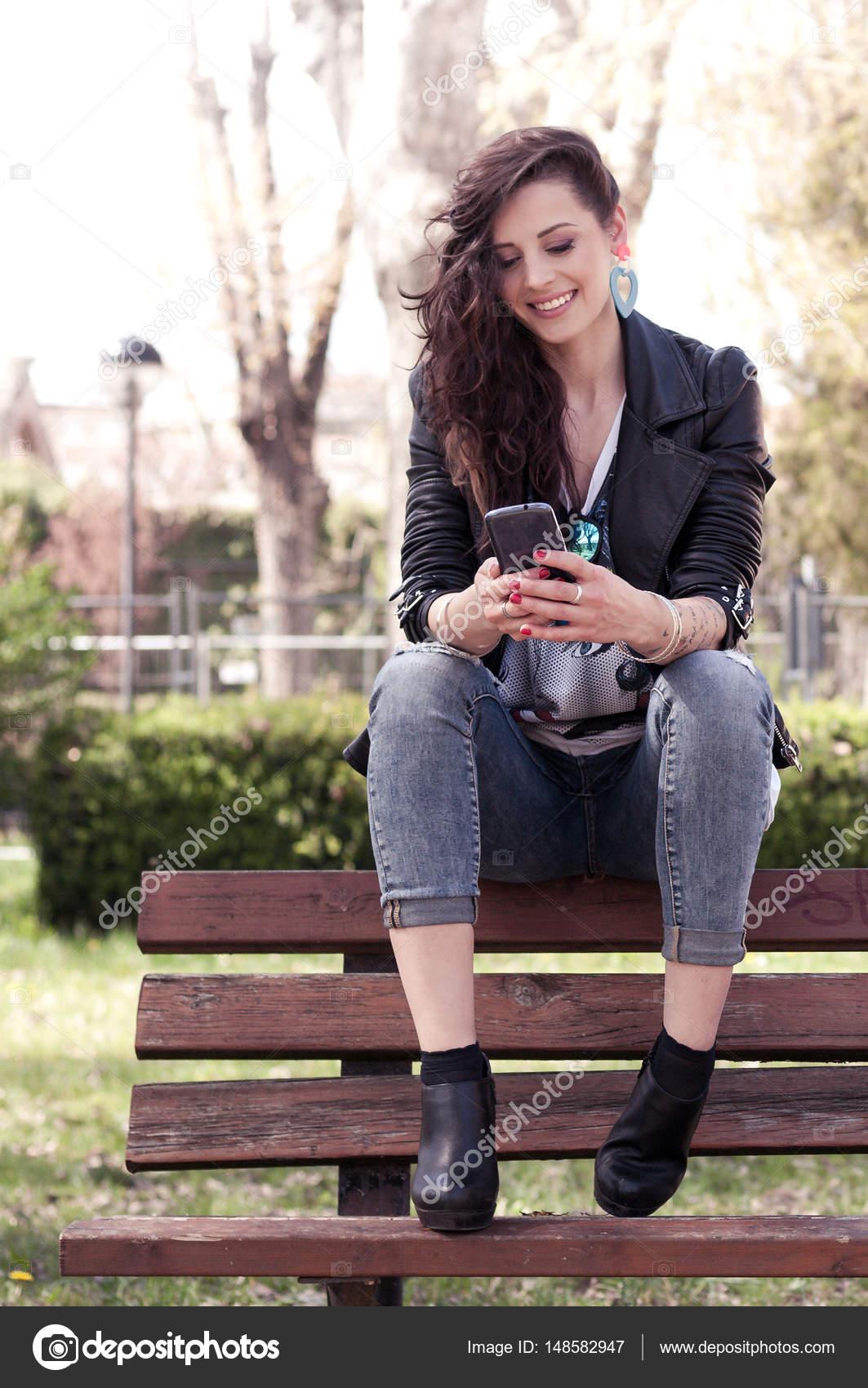 Beautiful girls in public