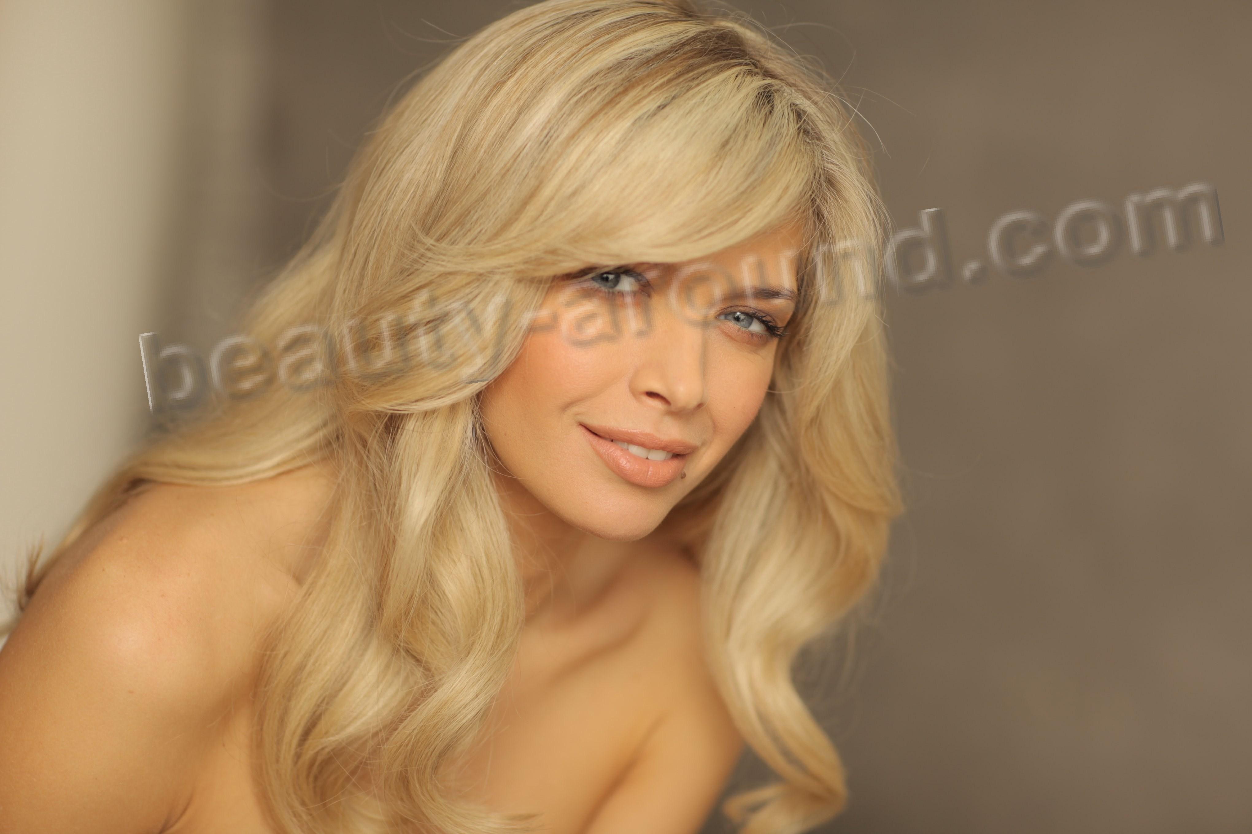 Naked blonde ukrainian teen