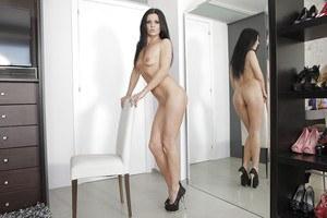 Nude met art frances