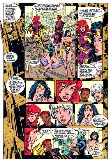 Nude lesbian women comics
