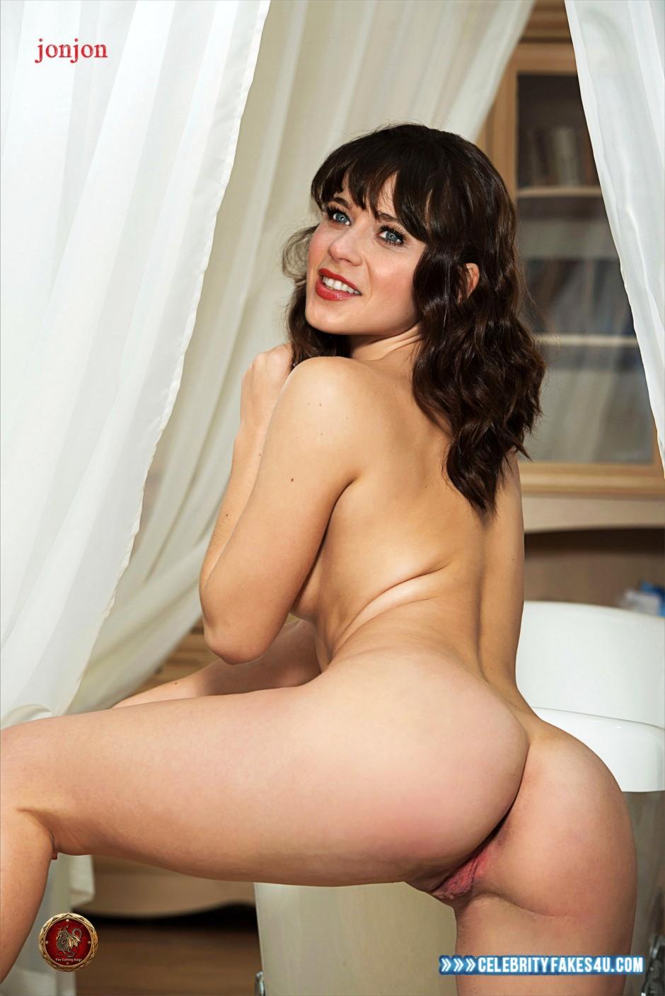 Zooey deschanel fake porn