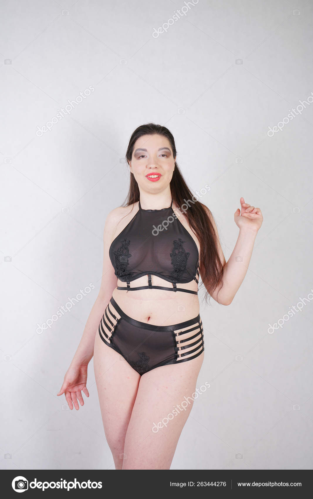 Sexy chubby girls lingerie