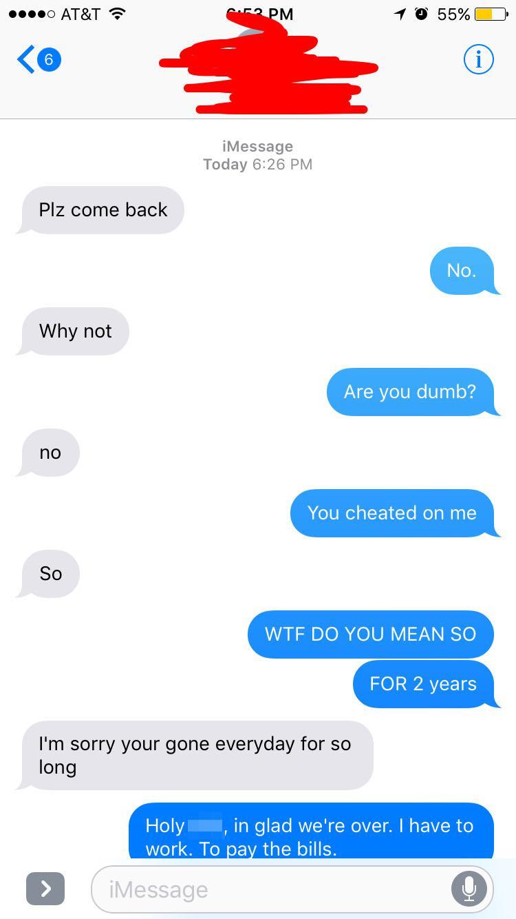 My cheating wife sweet revenge