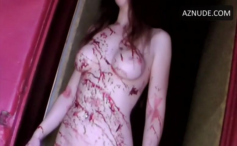 Horror porn bloody mary