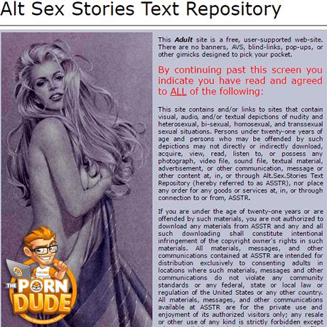 Free alt. sex stories