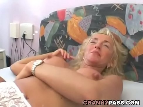Girl with blonde hairy pussy gets fucked