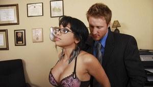 Wife flirts and fucks naughty