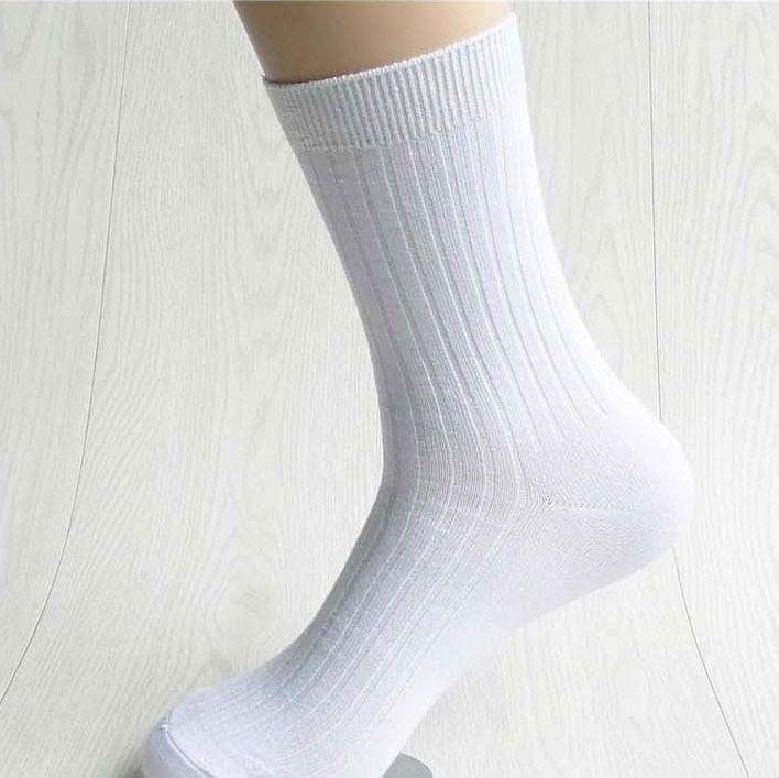 White socks boy teen feet